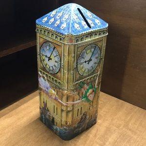 Vintage Antique Peter Pan Money Box/Tin